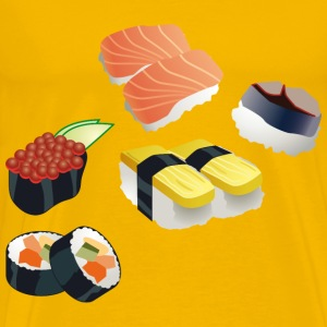 Sushi Set - Men's Premium T-Shirt
