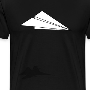 Paper Airplane Dreams - Men's Premium T-Shirt