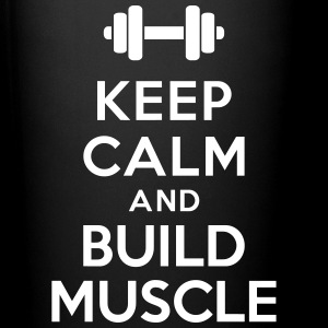 Keep calm Build Muscle Accessories - Full Color Mug