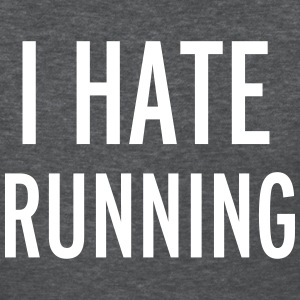 Hate Running Women's T-Shirts - Women's T-Shirt