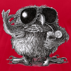 Very Cool Owl - Men's T-Shirt by American Apparel