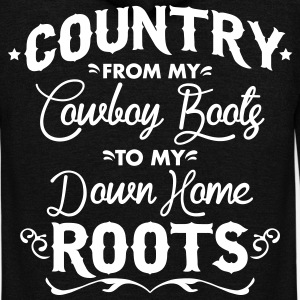 Country from my cowboy boots to my down home roots Zip Hoodies & Jackets - Unisex Fleece Zip Hoodie by American Apparel