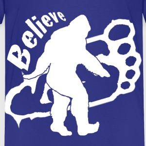 Bigfoot Believe  - Toddler Premium T-Shirt