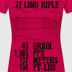.22 Long Rifle - Women's Premium T-Shirt
