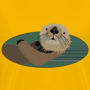 Sea otter - Men's Premium T-Shirt