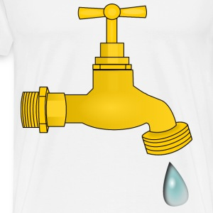 dripping faucet - Men's Premium T-Shirt