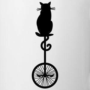 cat_unicycle Mugs & Drinkware - Coffee/Tea Mug