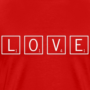 love game tiles T-Shirts - Men's Premium T-Shirt