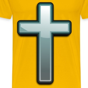 Gradient Cross - Men's Premium T-Shirt