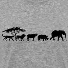 Big Five in the savannah Shirt
