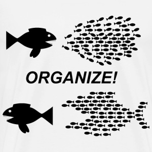 Organize Fish Picture - Men's Premium T-Shirt