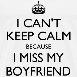 Miss my boyfriend - Men's Premium T-Shirt