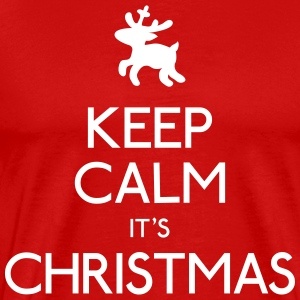 keep calm christmas T-Shirts - Men's Premium T-Shirt