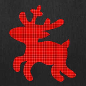 reindeer tartan Bags & backpacks - Tote Bag