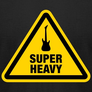 Super Heavy Sign T-Shirts - Men's T-Shirt by American Apparel
