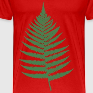 fern leaf - Men's Premium T-Shirt