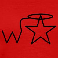Design ~ Men's Black Logo S-3X Wranglerstar