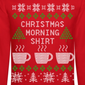 Christmas Morning Long Sleeve Shirts - Crewneck Sweatshirt