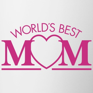 Best World's Mom Mugs & Drinkware - Contrast Coffee Mug