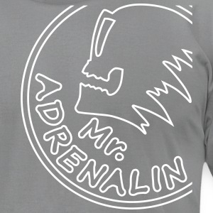 Mr. Adrenalin extreme sport T-Shirts - Men's T-Shirt by American Apparel