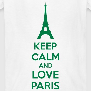 Keep Calm And Love Paris Kids' Shirts - Kids' T-Shirt