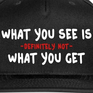 wysiwyg / what you see is what you get 2c Caps - Snap-back Baseball Cap