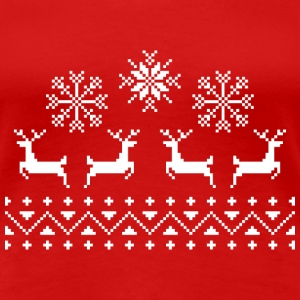 Four reindeers - Women's Premium T-Shirt