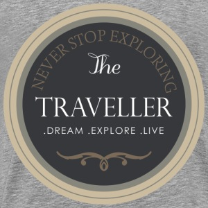 The traveller - Men's Premium T-Shirt