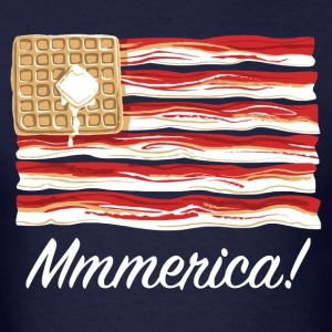 Mmmerica - Bacon Flag T-Shirts - Men's T-Shirt