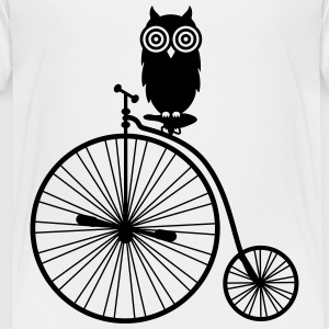 owl_bike Baby & Toddler Shirts - Toddler Premium T-Shirt