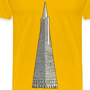 transamerica building - Men's Premium T-Shirt