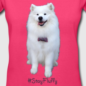 Stay Fluffy - Women's V-Neck T-Shirt