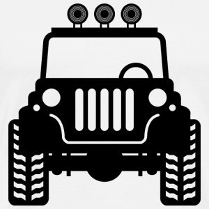 Jeep skeytch sign - Men's Premium T-Shirt
