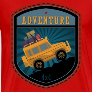 Jeep Adventures emblem - Men's Premium T-Shirt
