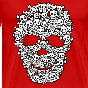 Cute Skull Of Skulls - Men's Premium T-Shirt