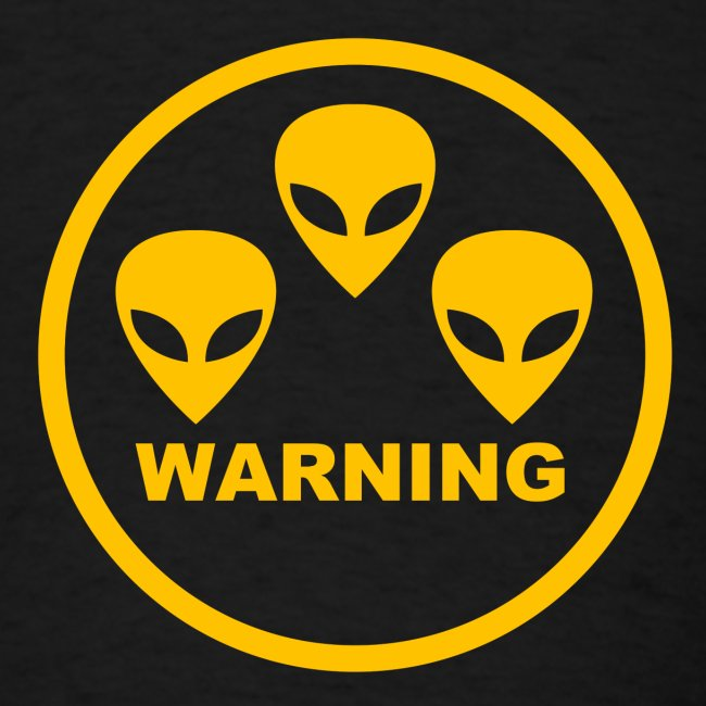 3 aliens - warning