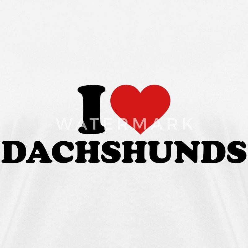 I Love Dachshunds I love Dachshunds T-Sh...