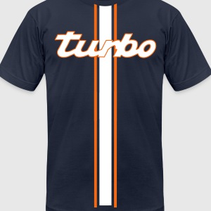 turbo shirt - Men's T-Shirt by American Apparel