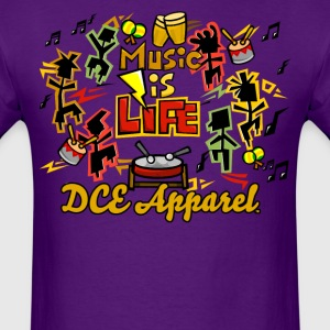 Music Is Life T-Shirts - Men's T-Shirt