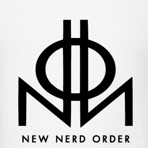 New Nerd Order Black - Men's T-Shirt