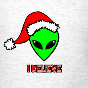 Santa Alien - Men's T-Shirt