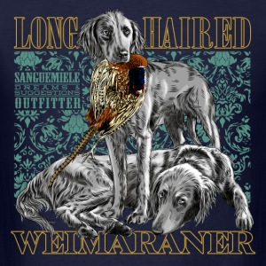 long haired weimaraner T-Shirts - Men's T-Shirt