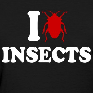 I Love Insects Women's T-Shirts - Women's T-Shirt