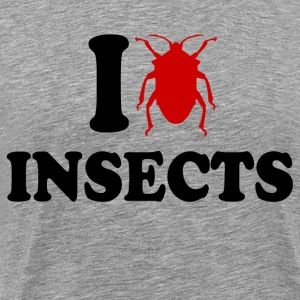 I Love Insects T-Shirts - Men's Premium T-Shirt