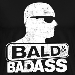 bald and badass T-Shirts - Men's Premium T-Shirt