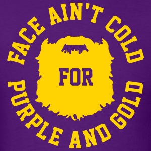 Purple and Gold T-Shirts - Men's T-Shirt