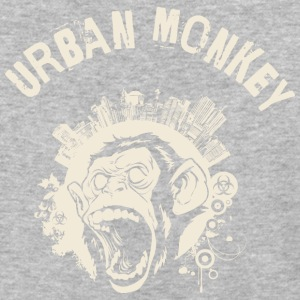 Urban Monkey (positive), DD, yellow T-Shirts - Baseball T-Shirt