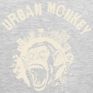 Urban Monkey (positive), DD, yellow Sportswear - Men's Premium Tank