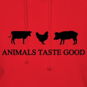 Animals Taste Good - Women's Hoodie