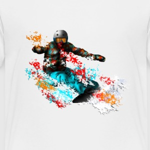 snowboarding Baby & Toddler Shirts - Toddler Premium T-Shirt